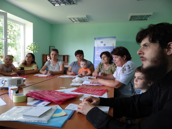 Training in advocacy for Alexandreni team