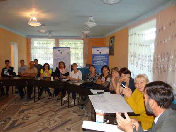Workshop on planning the campaign in Varatic village