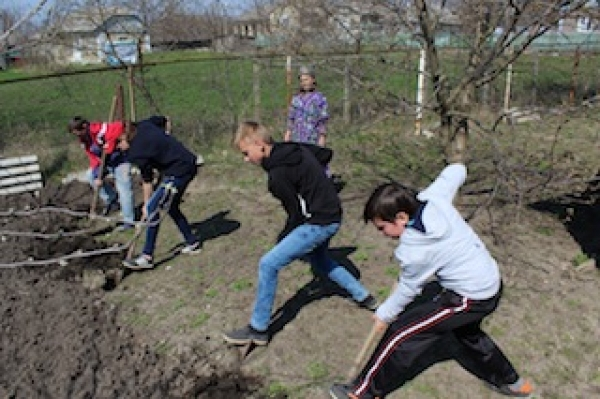 Good Deeds Day in Edinet district